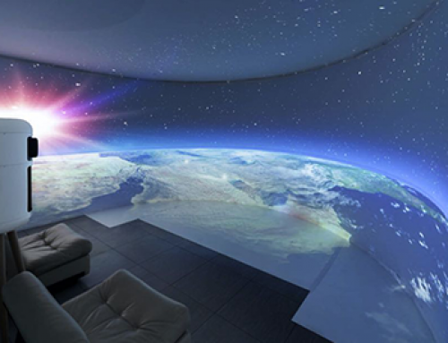 Broomx 360°-Projektionssystem